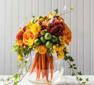 Вегетарианский фуршет от Express-catering